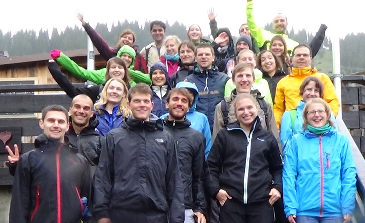 group photo retreat 2014 klein